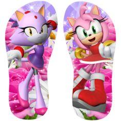 Estampa para chinelo Sonic 000943
