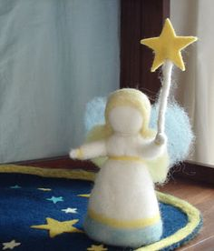 Advent Angel - Gaah!!  I need to learn how to felt or whatever this is...