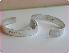 Father's Day gift Idea #1:Men's Flat Cuff Bracelet
