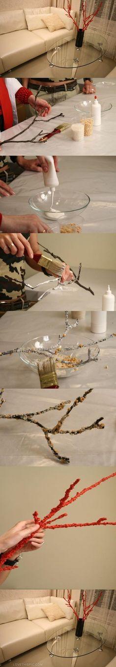 DIY Coral Branches diy crafts home decor easy crafts craft idea crafts ideas diy ideas diy crafts diy idea diy decor diy project craft decorations