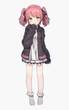 Manga Girl, Manga Anime, Loli Kawaii, Kawaii Anime Girl, Anime Girl Cute, Anime Art Girl, Anime Girl Drawings, Cute Drawings, Cute Characters