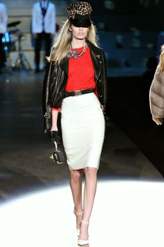 Dsquared2 Fall 2012 Ready-to-Wear Fashion Show - Frida Aasen