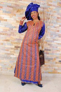 Bazin riche sénégalais pour femme