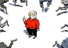 Merkels Neuansiedlungspolitik zerreißt die Gesellschaft. Der Riß geht tief durch die zwischenmenschlichen Beziehungen. Im Streit über die sogenannten Schutzsuchenden zerbrechen Freundschaften, gera…