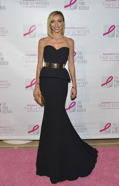 Giuliana Rancic attends The Pink Agenda 7th Annual Gala at IAC Building on October 2, 2014 in New York City.
