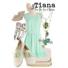 """Tiana"" by thejoyofdisney on Polyvore"