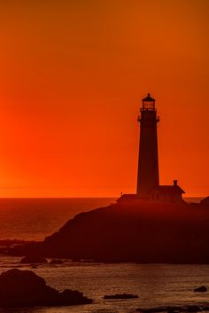 Pigeon Point Lighthouse around Sunset DSC0051 by Maji on Flickr