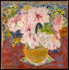 Pink Bouquet - Pierre Bonnard