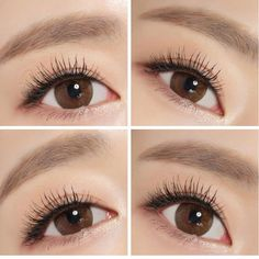"""Extra Dali Brown contact lenses have a coloration similar to NEO Natural Touch Brown, with the difference of having a larger graphic diameter. These are great for a """"girl-next-door"""" look that's as pretty as it is effortless."""