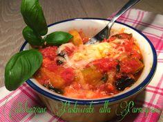 Cucinando tra le nuvole: Melanzane pasticciate alla Parmigiana