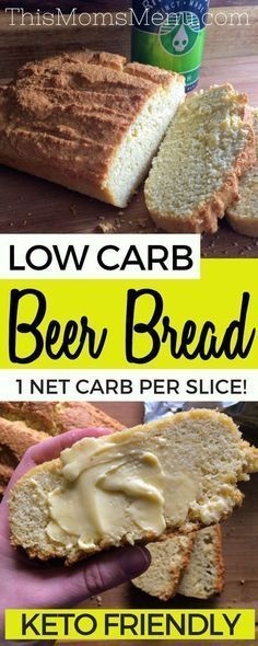 Low Carb Beer Bread Cut your Belly Fat Cutbellyfat Keto Easy Beer Bread is one of my all time favorite quick breads. Served warm and smeared with butter it is pure perfection! This bread is super easy, low in carbs and is a great addition to any meal Keto Foods, Ketogenic Recipes, Keto Snacks, Low Carb Recipes, Healthy Recipes, Diet Recipes, Recipes Dinner, Recipies, Chicken Recipes