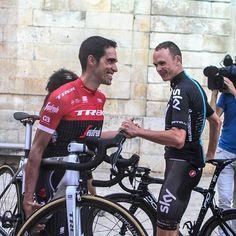 Alberto Contador, Chris Froome Team presentation La Vuelta 2017
