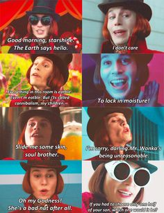 Memorable Quotes from Charlie and the chocolate factory