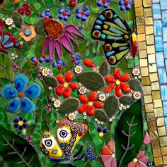 "A section of ""the Muse"" - by Irina Charny. Please ask her permission before pinning. Her website is http://www.icmosaics.com"