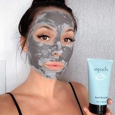 Mask For Oily Skin, Oily Skin Care, Facial Skin Care, Facial Masks, Nu Skin Mud Mask, Epoch Mud Mask, Marine Mud Mask, Glacial Marine Mud, Back Acne Remedies