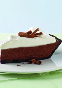 Chocolate Silk Pie with Marshmallow Meringue – The words silk and meringue convey how sumptuous this chocolate-marshmallow pie recipe is. But really, you should just make one and taste for yourself!
