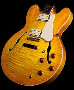 Gibson Memphis Limited Edition ES-335 Electric Guitar Lemonburst | The Music Zoo