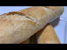Baguette, Churros, Youtube, Unleavened Bread Recipe, Donut Hole Recipe, Bread Recipes, Oven, Meals, Bread