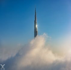 "Liftoff! - Dense fog wrapping around Burj Khalifa in Dubai.  My website: <a><a href=""http://www.danielcheongphotography.com"">www.danielcheongphotography.com</a> Follow me on <a href=""http://www.facebook.com/danielcheongphotography"">Facebook</a> 