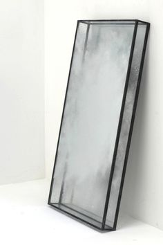 Tom Palmer | Cloud Mirror | glass, silver, lead