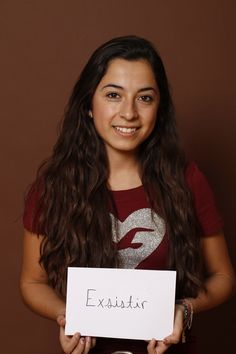 Exist, Cinthia Infante, Estudiante, Monterrey, México.