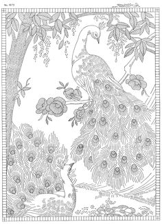 Thrilling Designing Your Own Cross Stitch Embroidery Patterns Ideas. Exhilarating Designing Your Own Cross Stitch Embroidery Patterns Ideas. Embroidery Designs, Hand Embroidery Patterns, Vintage Embroidery, Cross Stitch Embroidery, Embroidery Sampler, Flower Embroidery, Embroidery Thread, Peacock Coloring Pages, Animal Coloring Pages