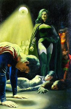 "rcbot: ""Emerald Empress vs. Superboy and the Legion of Super-Heroes - JOHN WATSON """
