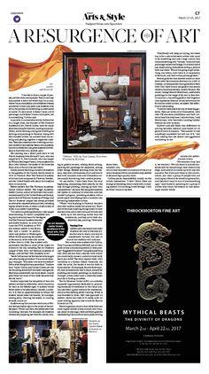 A Resurgence of Art|Epoch Times #Arts #newspaper #editorialdesign