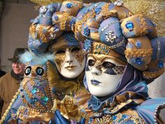 Italy, Venice, Carnivale. Cool costumes
