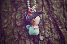 Vanellope Von Schweetz Chibi (from Wreck it Ralph) • Necklace/Keychain/Phone Charm/Earrings