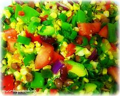 Tex-Mex Raw Corn Salad