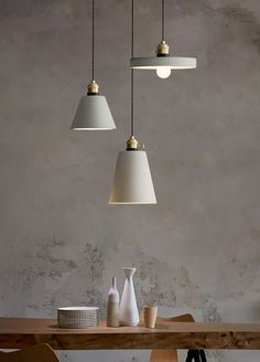 Concrete Vasa Minimalist Pendant Light - Tudo&Co – Tudo And Co Kitchen Pendant Lighting, Modern Pendant Light, Glass Pendant Light, Pendant Lamp, Pendant Lights, Interior Lighting, Modern Lighting, Pendant Lighting Bedroom, Club Lighting