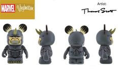 Marvel Series 2 Rhino Disney Vinylmation 3'' Figure