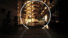 Night Stroll Geometric Fubiz
