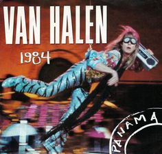 Vintage Vinyl Record Collection - Van Halen - Panama, Warner Brothers Records, Catalog Country - US, 45 RPM Record, Released 1984 Eddy Van Halen, Alex Van Halen, Music Like, 80s Music, Music Stuff, David Lee Roth, Vinyl Record Collection, Vintage Vinyl Records, Warner Brothers