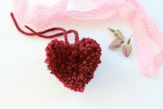 Heart Pom Pom | FaveCrafts.com