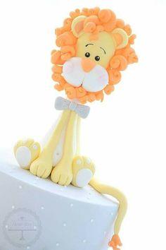 Lion fondant