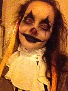 Creapy clown