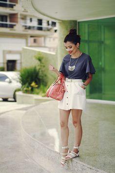 Blog da Lê-Moda e Estílo: Look - Jeans e Branco