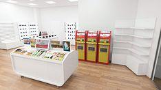 CEWE SK - Store on Behance Interior Architecture, Interior Design, Magazine Rack, Behance, Concept, Cabinet, Storage, Projects, Furniture