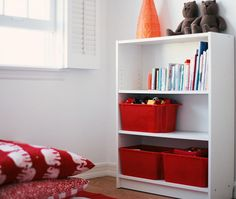 Tips for organizing your kids' toys...from the Feng Shui book that I shot years ago.