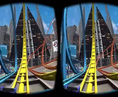 3D Side By Side VR Roller Coaster App for Google Cardboard.Experience 3D VR excitement of this 3D roller coaster with your Google Cardboard/Headset. WooHoo! Enjoy! Credits:POP 2Review