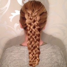 Have to keep on challenging myself so todays braid for my oldest is a 7 stranded dutchbraid #braids#dutchbraid#sevenstrand#braid#instahair#instabraid#braidphotos#blondehair#intricatebraid#hairstyle#hairdo#updo#hårfrisyre#hairoftoday#flette#frisyre #Padgram