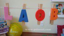 Prendedor de alfabeto