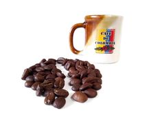 Coffee candle Colombian Coffee Candle, Candles, Mugs, Tableware, Dinnerware, Tumbler, Dishes, Mug, Place Settings