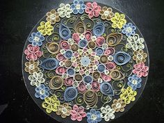 Paper Quilling Doily