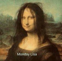 #monalisa #monday #purpleclover