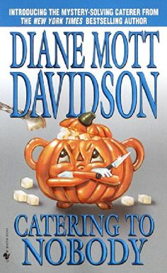 Catering to Nobody (Goldy, Book 1) by Diane Mott Davidson http://www.amazon.com/dp/0553584707/ref=cm_sw_r_pi_dp_KMlDub10P9B4Y