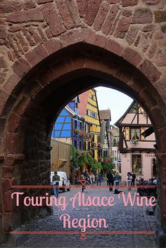 The Alsace wine region in France is an area every wine lover should visit at least once. It's full of medieval cities, castles, and some of the best wine (especially Rieslings) you will ever taste!