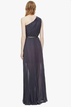 Vestido plisado - Vestidos | Adolfo Dominguez shop online